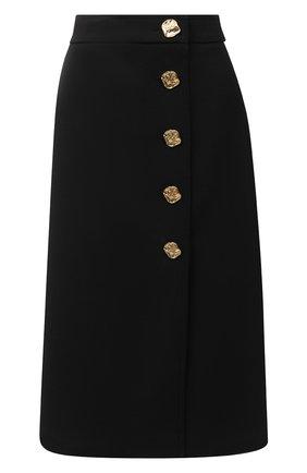 Женская юбка ESCADA черного цвета, арт. 5034412 | Фото 1