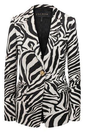 Женский жакет ESCADA черно-белого цвета, арт. 5034269 | Фото 1