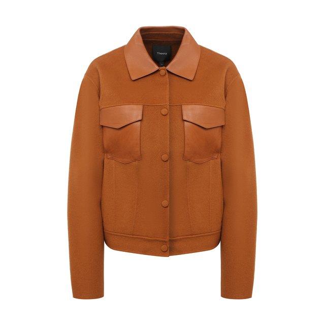 Куртка из шерсти и кашемира Theory