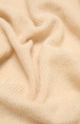 Мужские шарф из смеси шерсти и кашемира INVERNI светло-бежевого цвета, арт. 4264SM | Фото 2