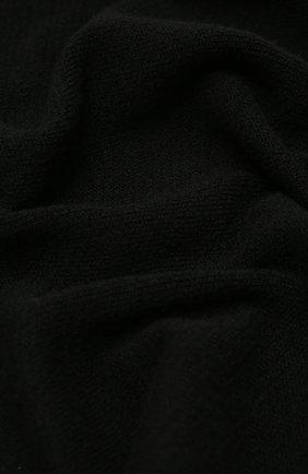 Мужские шарф из смеси шерсти и кашемира INVERNI черного цвета, арт. 4264SM | Фото 2