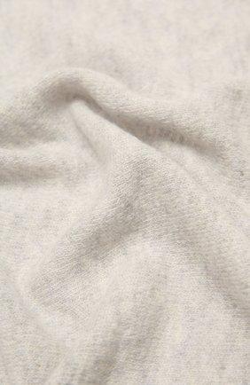 Мужские шарф из смеси шерсти и кашемира INVERNI светло-серого цвета, арт. 4264SM | Фото 2