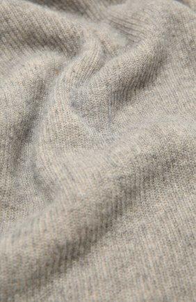 Мужские шарф из шерсти и кашемира INVERNI светло-серого цвета, арт. 4269SM | Фото 2