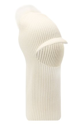 Женская шапка-балаклава INVERNI белого цвета, арт. 4922CM | Фото 1