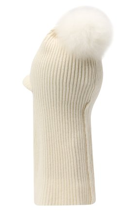 Женская шапка-балаклава INVERNI белого цвета, арт. 4922CM | Фото 2