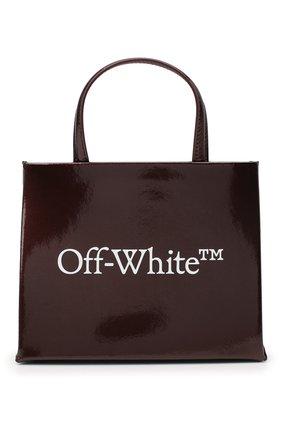 Женский сумка box mini OFF-WHITE бордового цвета, арт. 0WNA059F20LEA0012801 | Фото 1