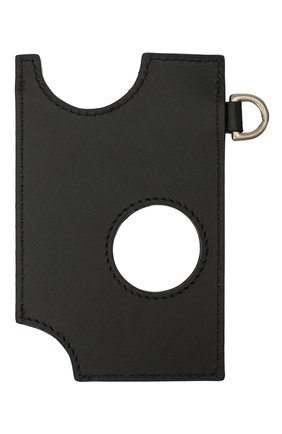 Женский кожаный футляр для кредитных карт OFF-WHITE черного цвета, арт. 0WNJ002F20LEA0021000 | Фото 2
