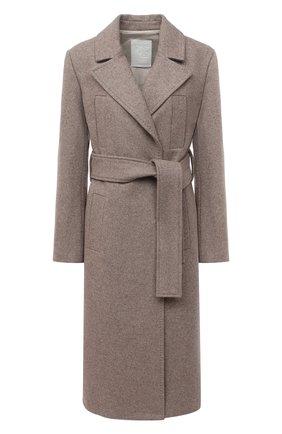 Женское шерстяное пальто TWINS FLORENCE бежевого цвета, арт. TWFAI20CAP0001B | Фото 1