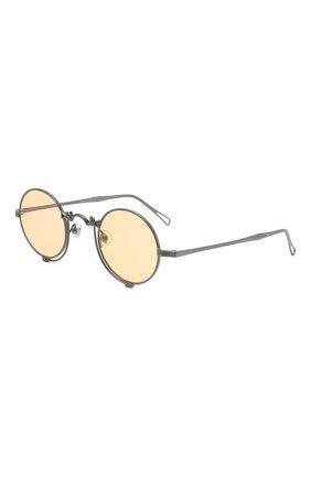 Мужские солнцезащитные очки MATSUDA серебряного цвета, арт. 10601H MBK | Фото 1