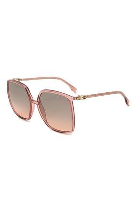 Женские солнцезащитные очки FENDI сиреневого цвета, арт. 0431/G 35J   Фото 1