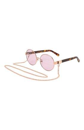 Женские солнцезащитные очки MARC JACOBS (THE) сиреневого цвета, арт. MARC 497/G DDB | Фото 1