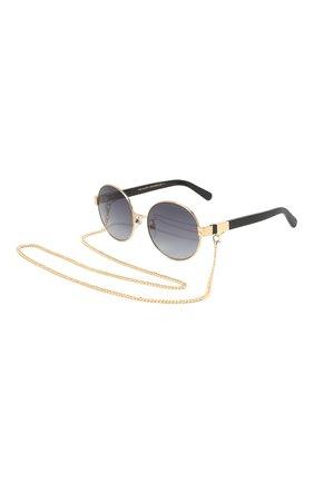 Женские солнцезащитные очки MARC JACOBS (THE) черного цвета, арт. MARC 497/G J5G | Фото 1