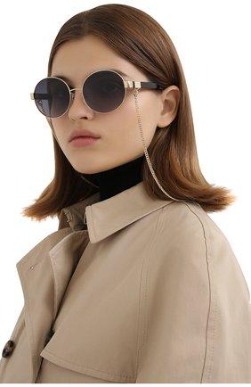 Женские солнцезащитные очки MARC JACOBS (THE) черного цвета, арт. MARC 497/G J5G | Фото 2