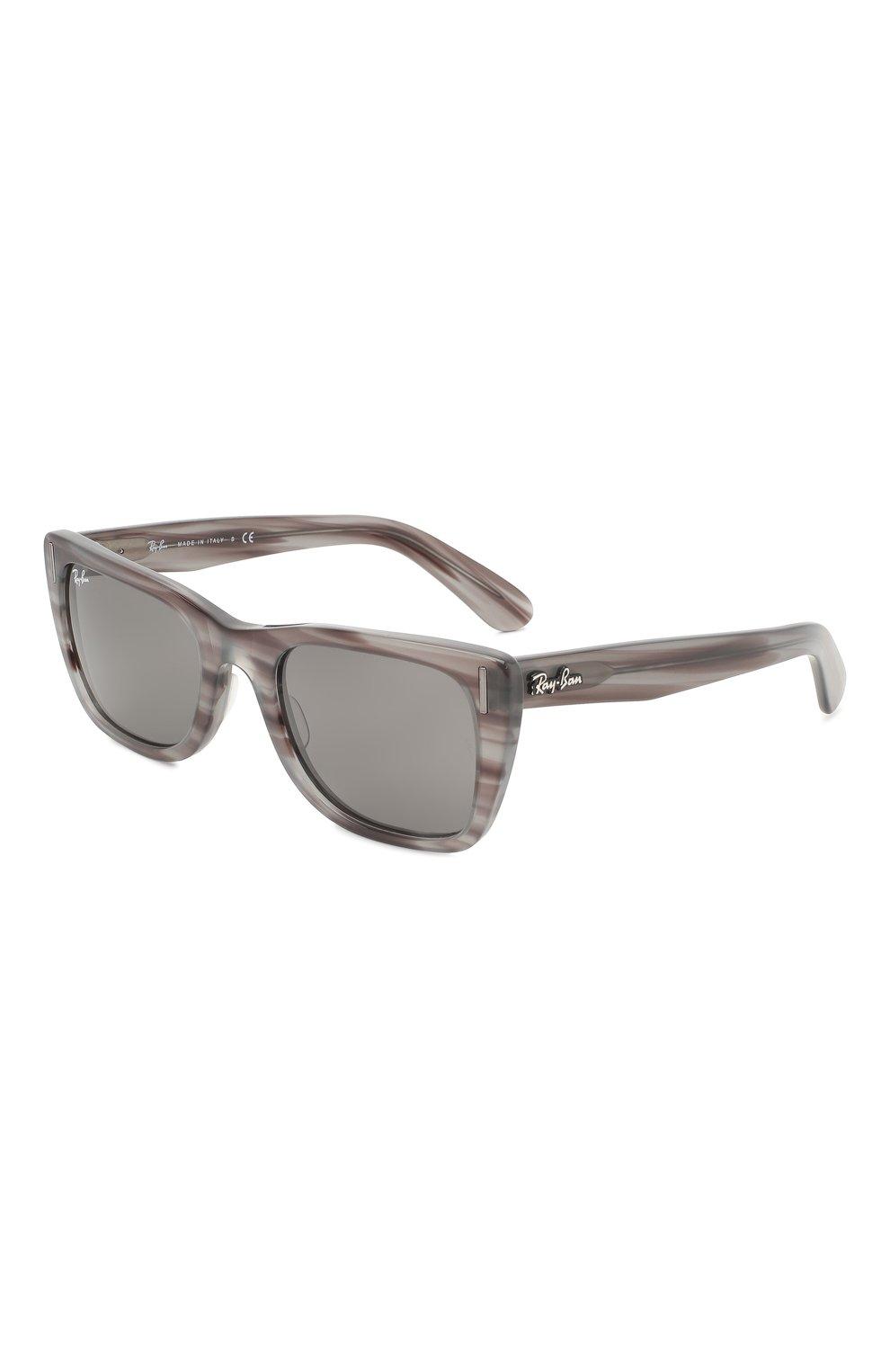 Женские солнцезащитные очки RAY-BAN серого цвета, арт. 2248-1314B1 | Фото 1