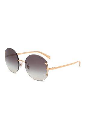 Женские солнцезащитные очки TIFFANY & CO. золотого цвета, арт. 3071-61093C | Фото 1