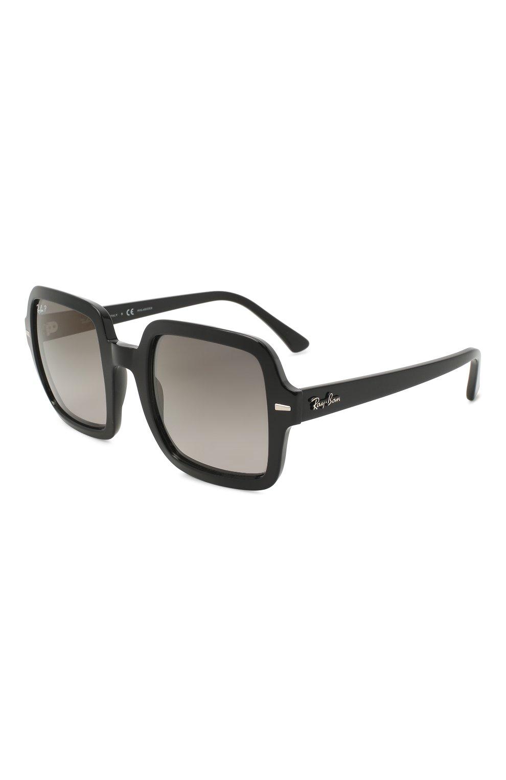 Женские солнцезащитные очки RAY-BAN черного цвета, арт. 2188-901/M3 | Фото 1