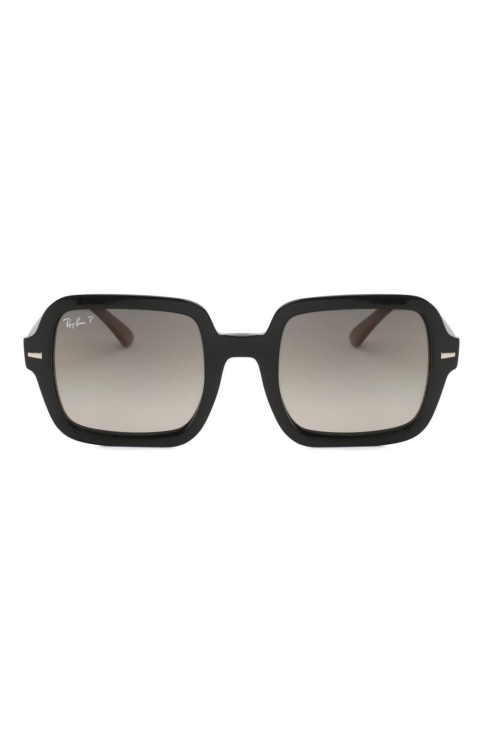 Женские солнцезащитные очки RAY-BAN черного цвета, арт. 2188-901/M3 | Фото 3