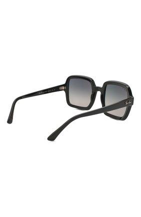 Женские солнцезащитные очки RAY-BAN черного цвета, арт. 2188-901/M3 | Фото 4