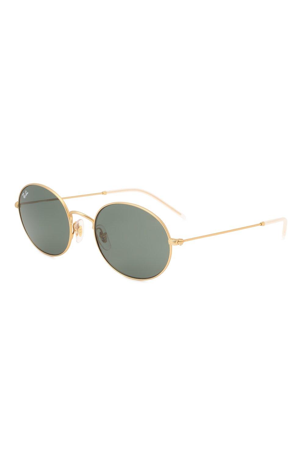 Женские солнцезащитные очки RAY-BAN золотого цвета, арт. 3594-901371 | Фото 1
