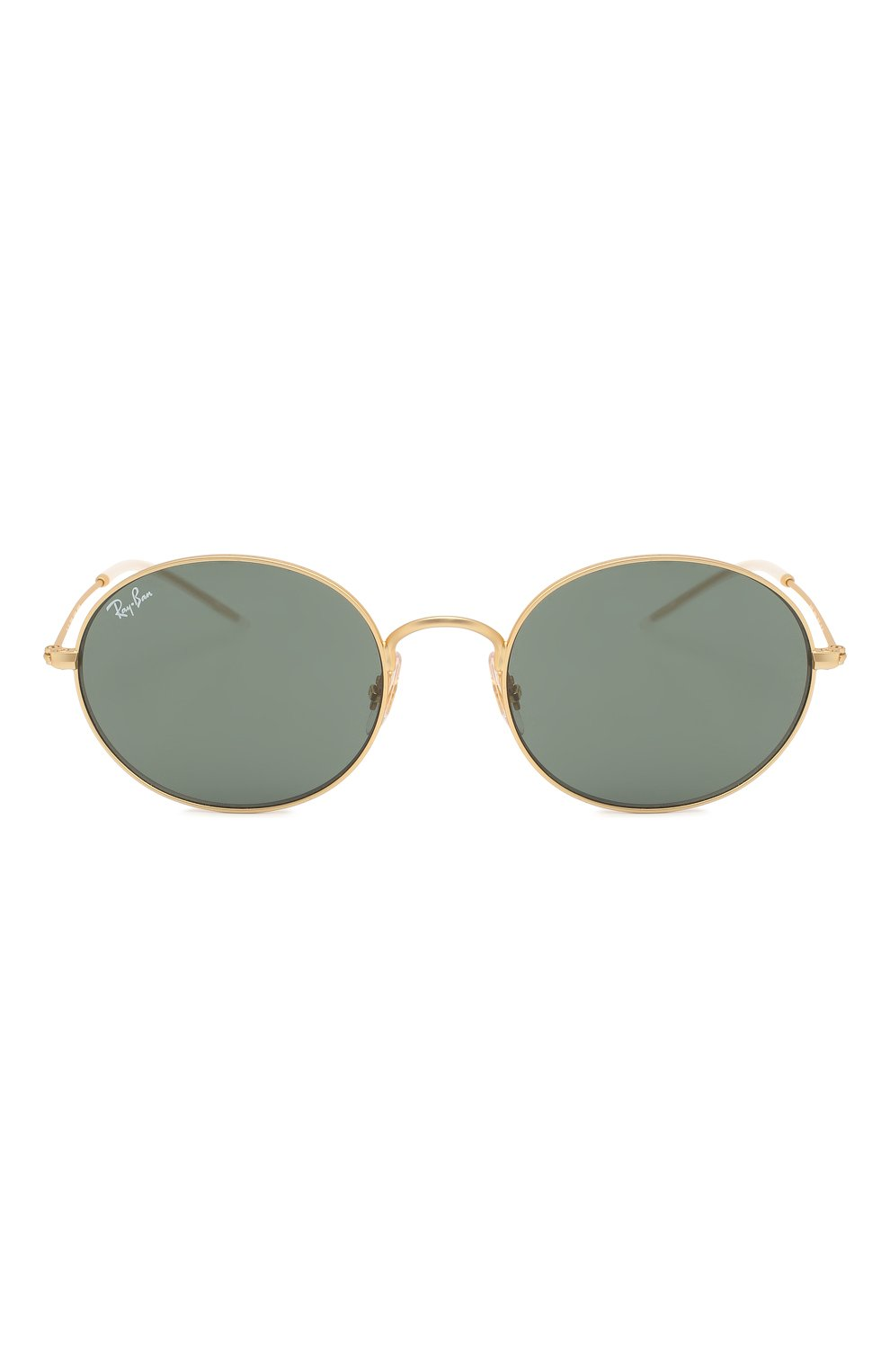 Женские солнцезащитные очки RAY-BAN золотого цвета, арт. 3594-901371 | Фото 4