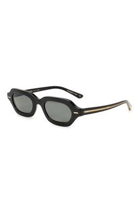 Женские солнцезащитные очки THE ROW X OLIVER PEOPLES черного цвета, арт. 5386SU-1005R5 | Фото 1