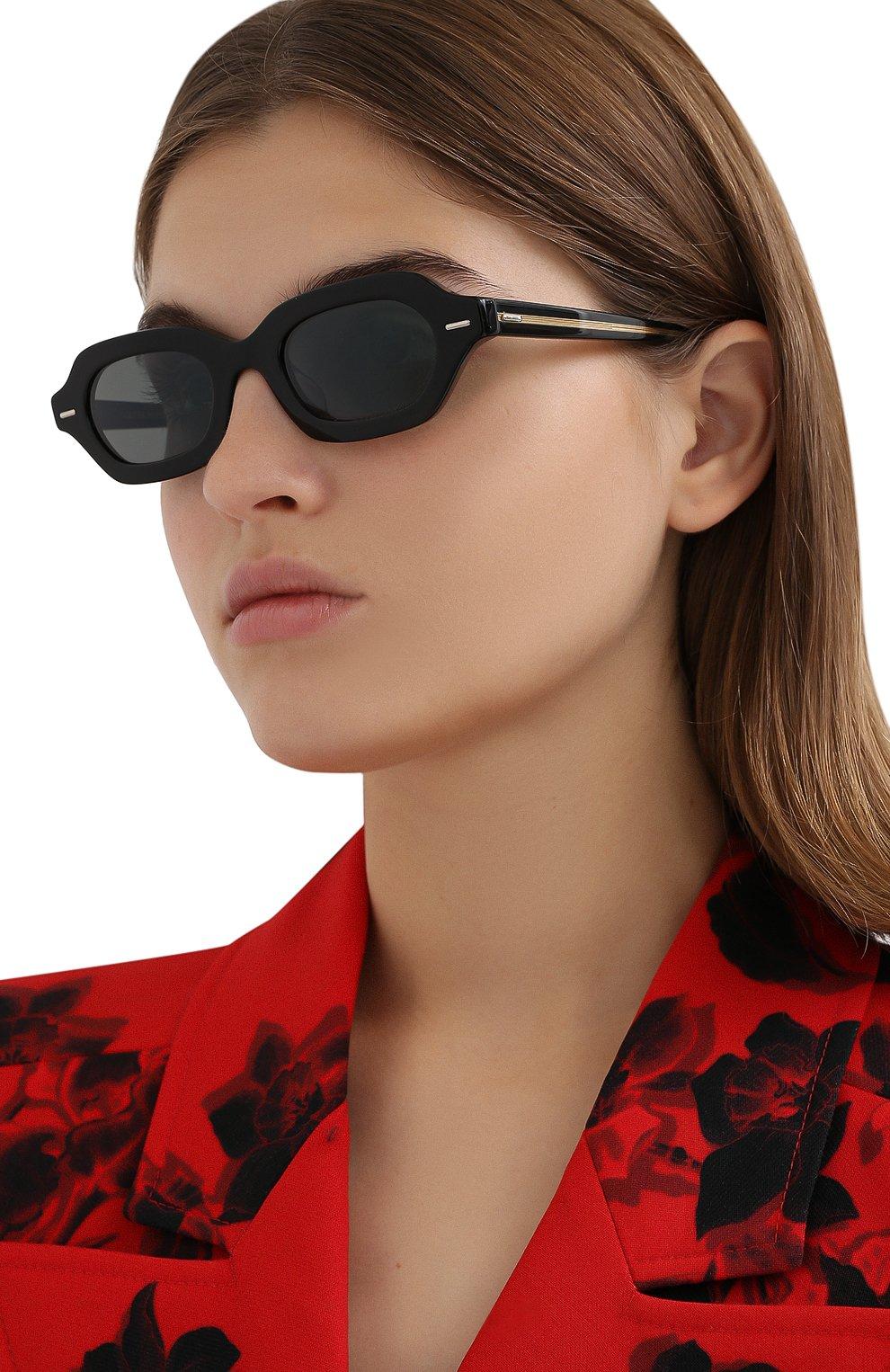 Женские солнцезащитные очки THE ROW X OLIVER PEOPLES черного цвета, арт. 5386SU-1005R5 | Фото 2