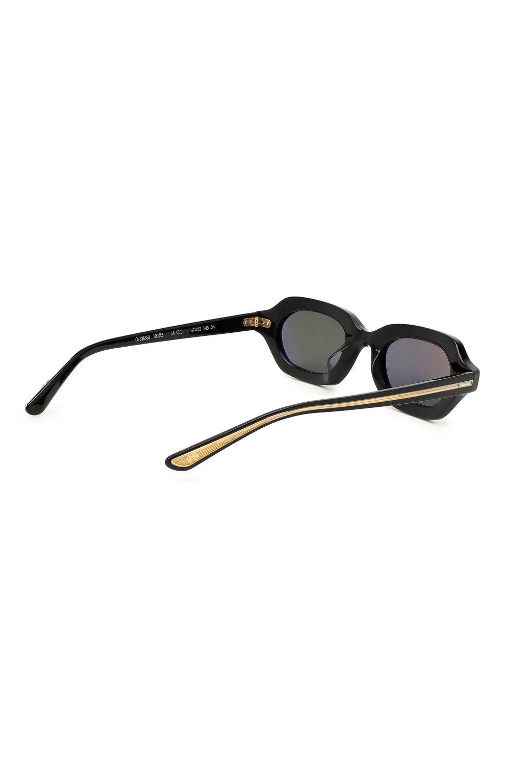 Женские солнцезащитные очки THE ROW X OLIVER PEOPLES черного цвета, арт. 5386SU-1005R5 | Фото 4