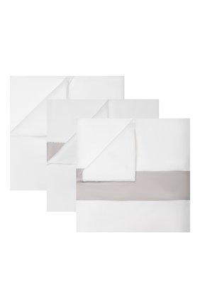 Комплект постельного белья FRETTE серебряного цвета, арт. FR2934 E3491 260A | Фото 1