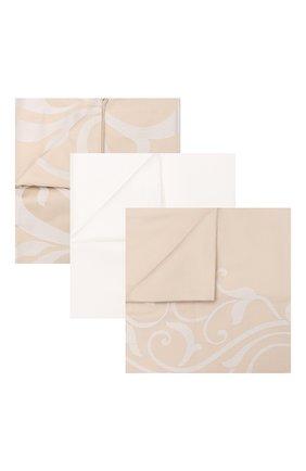 Комплект постельного белья FRETTE бежевого цвета, арт. FR6594 E3478 260A | Фото 1