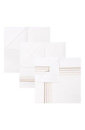 Комплект постельного белья FRETTE бежевого цвета, арт. F07092 E3491 260A | Фото 1