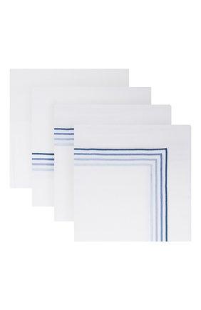 Комплект постельного белья FRETTE синего цвета, арт. F07092 E3491 260A | Фото 1