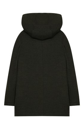 Детское шерстяное пальто DOLCE & GABBANA хаки цвета, арт. L41C96/G7XLH/2-6 | Фото 2