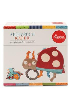 Детского книжка-игрушка божья коровка SIGIKID разноцветного цвета, арт. 42512 | Фото 1