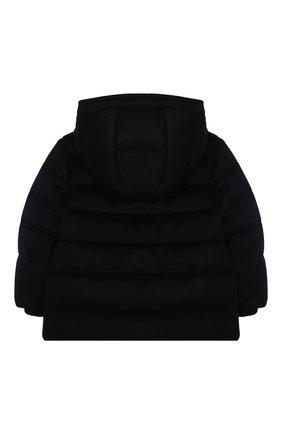 Детского пуховая куртка LORO PIANA темно-синего цвета, арт. FAL3466 | Фото 2