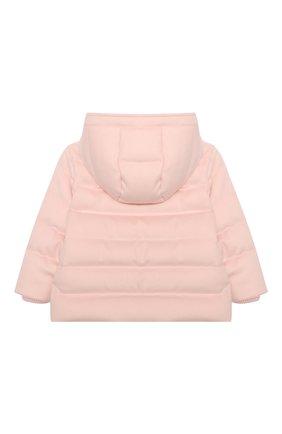 Детского пуховая куртка LORO PIANA светло-розового цвета, арт. FAL3466 | Фото 2
