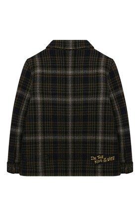 Детское шерстяная куртка DOLCE & GABBANA разноцветного цвета, арт. L41C97/G7XLY/2-6 | Фото 2