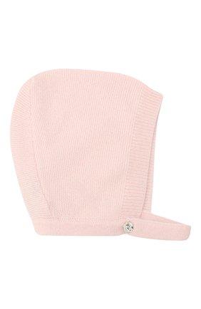 Детского кашемировая шапка LES LUTINS PARIS светло-розового цвета, арт. 20H053/JANE | Фото 1