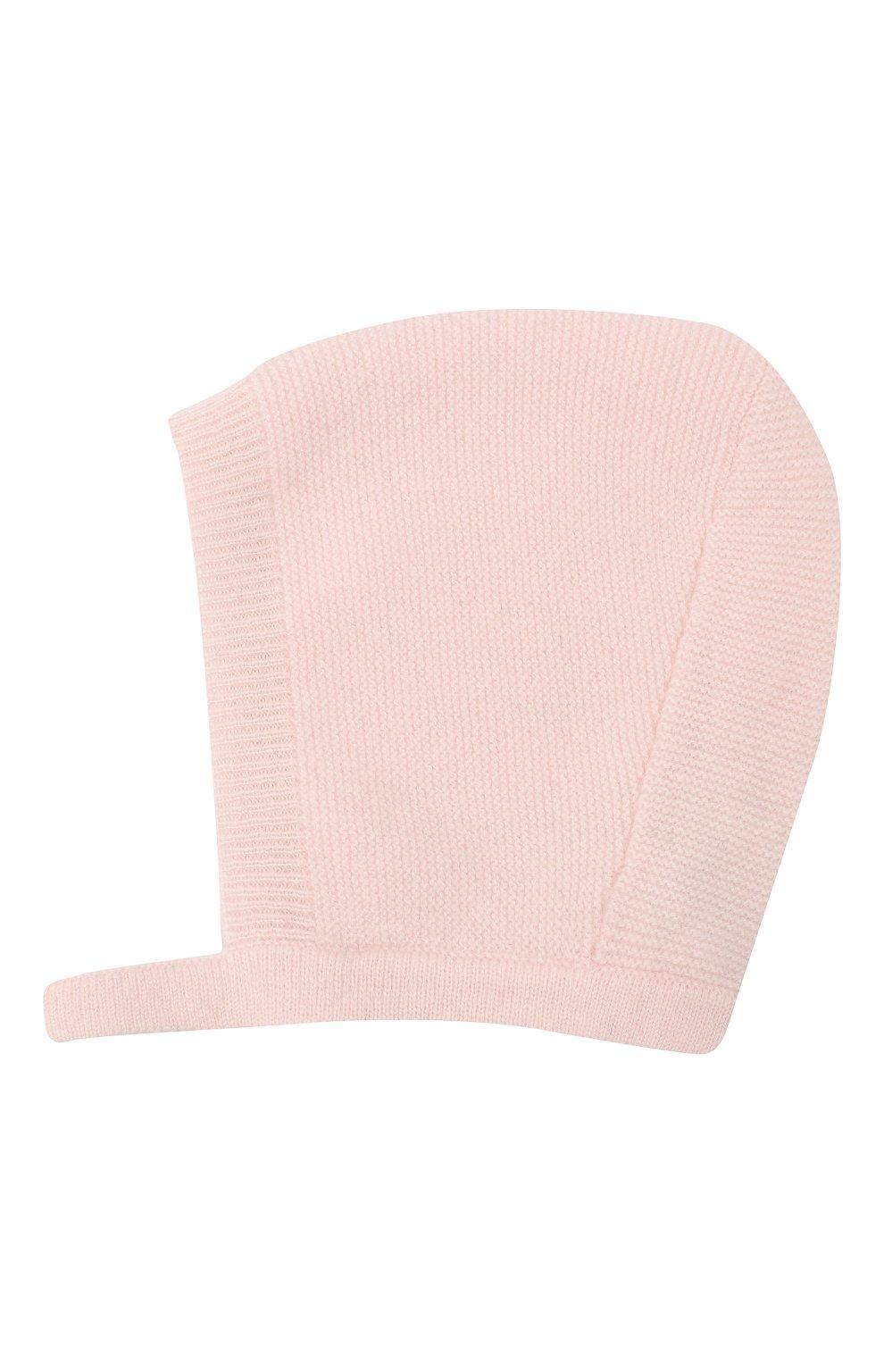 Детского кашемировая шапка LES LUTINS PARIS светло-розового цвета, арт. 20H053/JANE | Фото 2