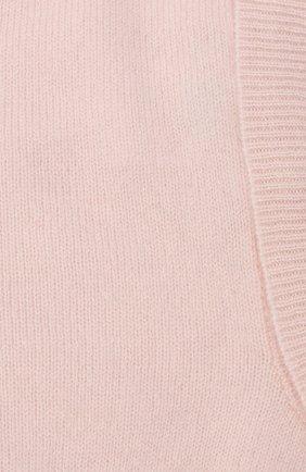 Детского кашемировая шапка-балаклава LES LUTINS PARIS светло-розового цвета, арт. 20H029/CALIXTE | Фото 3