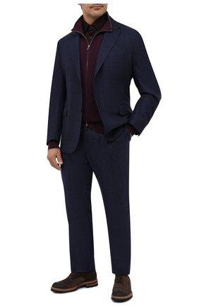 Мужская хлопковая рубашка ZILLI коричневого цвета, арт. MFU-56064-@/0007/45-49 | Фото 2