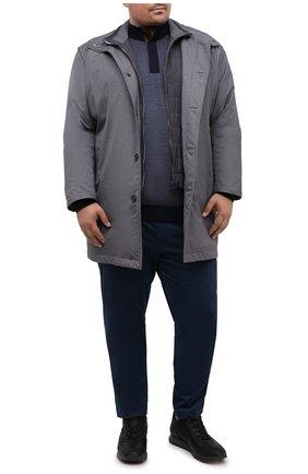 Мужской джемпер из шерсти и кашемира PAUL&SHARK синего цвета, арт. I20P1155/GQH/3XL-6XL | Фото 2