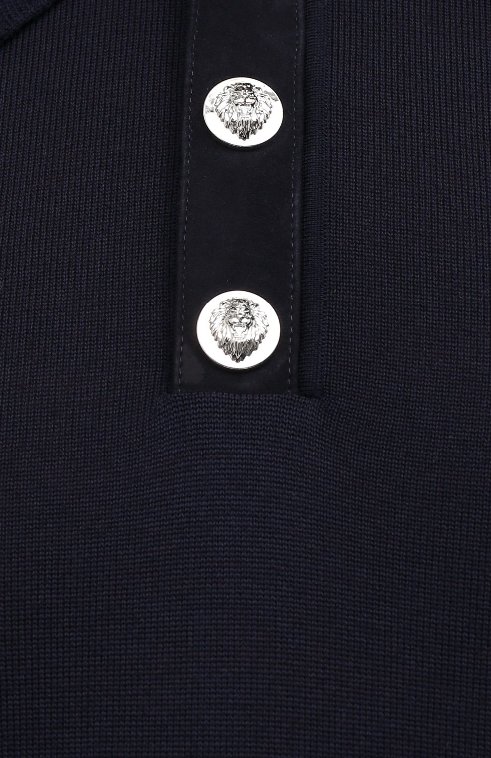 Мужское шерстяное поло BILLIONAIRE темно-синего цвета, арт. W20C MKK0166 BCO025N | Фото 5