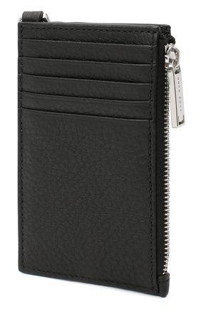 Мужской кожаный футляр для кредитных карт BOSS черного цвета, арт. 50437544 | Фото 5