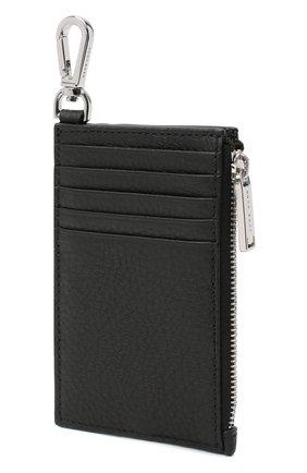 Мужской кожаный футляр для кредитных карт BOSS черного цвета, арт. 50437544 | Фото 6