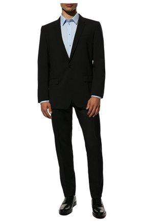 Мужской шерстяной костюм DOLCE & GABBANA черного цвета, арт. GK0EMT/GE066 | Фото 1