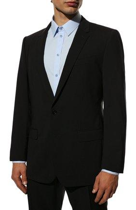 Мужской шерстяной костюм DOLCE & GABBANA черного цвета, арт. GK0EMT/GE066 | Фото 2