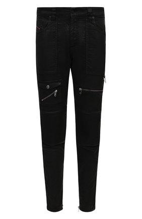 Мужские джинсы DIESEL черного цвета, арт. A01115/069QY | Фото 1