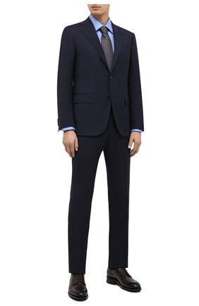 Мужской шерстяной костюм CORNELIANI темно-синего цвета, арт. 867268-0817248/92 Q1 | Фото 1