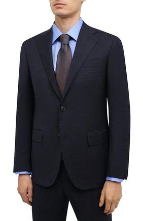Мужской шерстяной костюм CORNELIANI темно-синего цвета, арт. 867268-0817248/92 Q1 | Фото 2