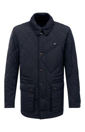 Мужская утепленная куртка TOM FORD темно-синего цвета, арт. BV040/TF0567 | Фото 1